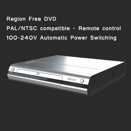 Worldwide Region free Compact DVD Player